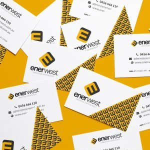 Enerwest Business Cards